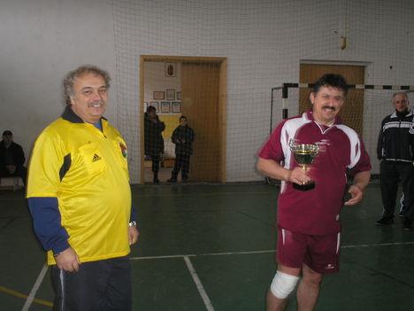 Díjátadó- Hiba Ferenc és Molnár László