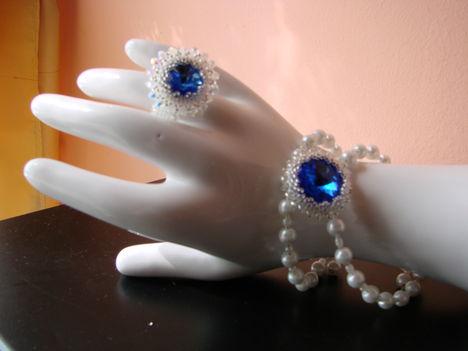 esküvői gyűrűm és karközőm