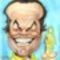 Jack NIcholson karikatúra