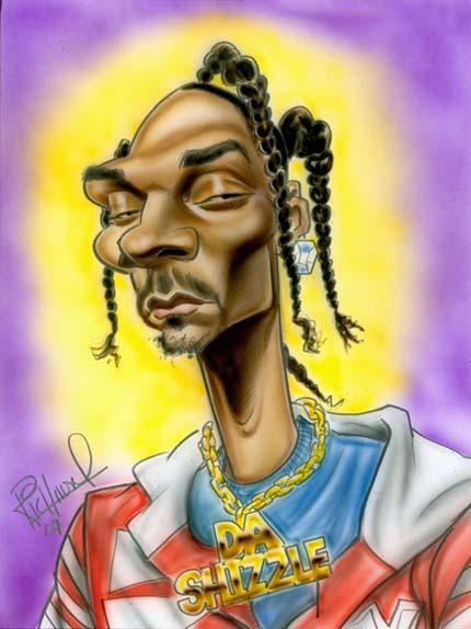 Snoop dogg karikatúra