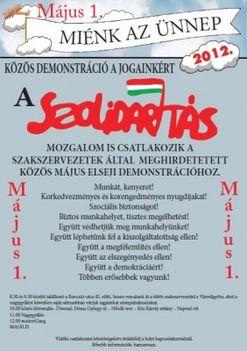 Szolidaritás majális -május 1