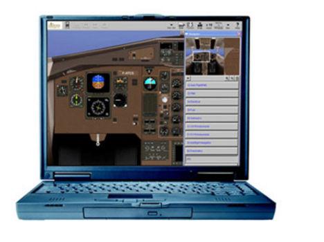 virtuális repülési program