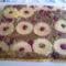 Ananászos meggyes süti