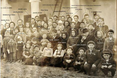 Jandó család