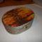 Kókuszzsinórral bevont doboz,rizspapírral