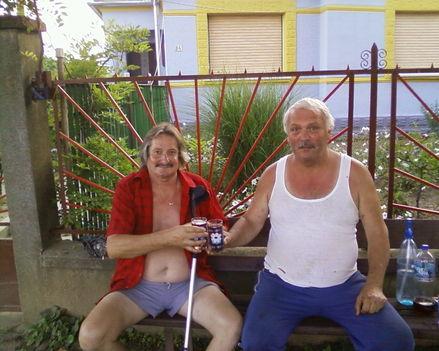 Attila Barátommal tavaly nyáron...
