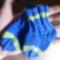 úton levő kis ember kis zoknija :)