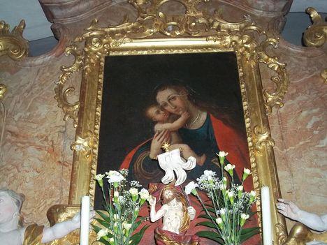 Steinberg-Dörfl (Ausztria) Mária búcsújáróhely oltára