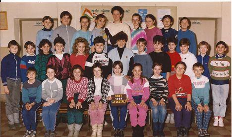6. a. osztályos korukban az 1991-ben végzettek