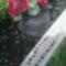 Piros-fekete horgolt bogyoval