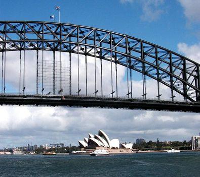 Harbour Bridge és az Opera