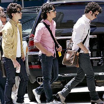 Jonas Brothers by paparazzi