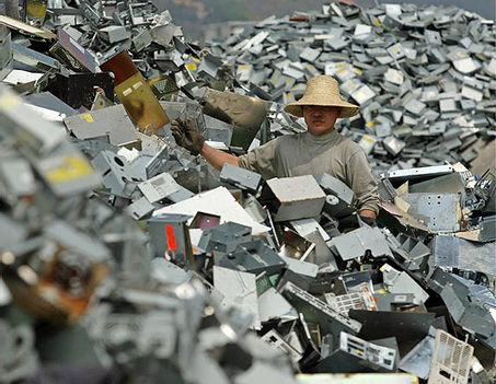 Kínai e-hulladék feldolgozás