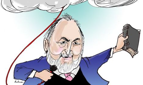 Németh Sándor karikatura