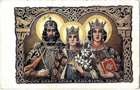 Szent Imre szüleivel