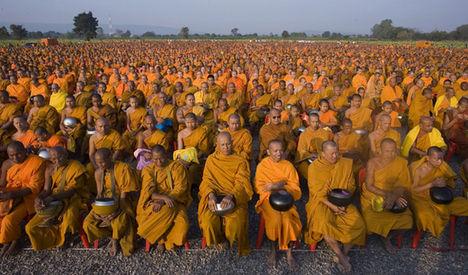 thai szerzetesek