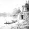 A városligeti tó 1870
