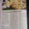 Andi receptje az egyik újságban