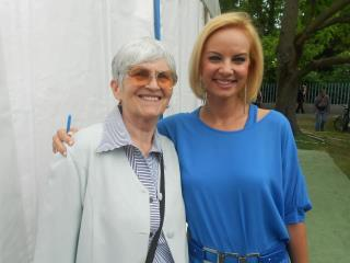 Komonyi Zsuzsi és Böbe Héviz 2012 máj 28