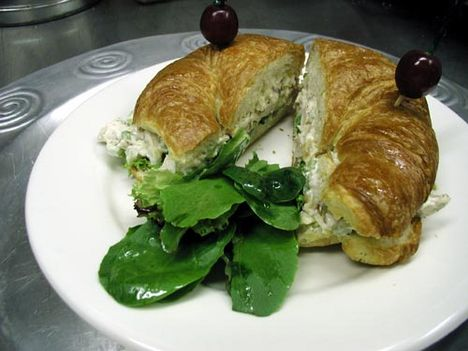 chicken almond sandwich