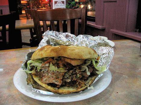 döner kebab, a török szendvics