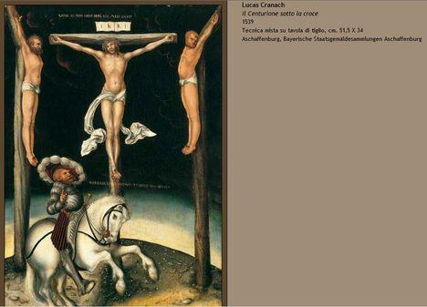Lucas Cranach Keresztre feszítés