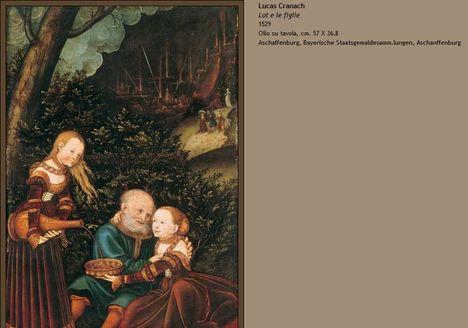 Lucas Cranach Lót és lányai