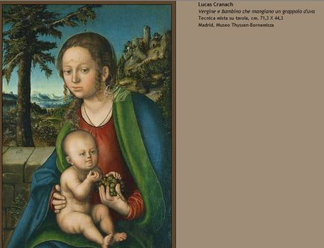 Lucas Cranach Madonna