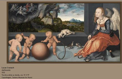 Lucas Cranach Malinconia 1532