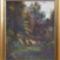 Magyar képtár 3 Gászpor Vince.Séta az erdőbe,30x40cm,olajfestmény farost lemezre