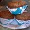 Mogyorókrémes muffin