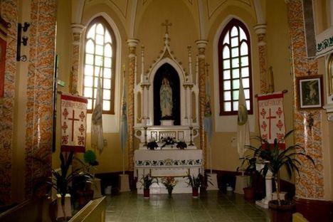 Szülöfalum, Gyergyótölgyes - Mária oltára