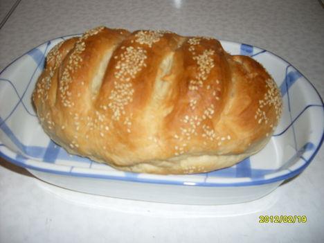 Frissen sült kenyerem