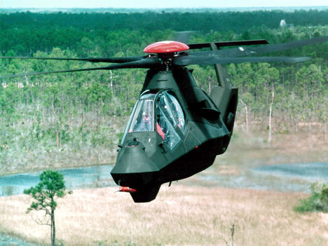 Boeing Sikorsky RAH 66 Comanche Helicopter