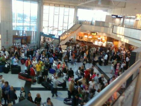 A 2-es A terminál az 1-es bezárását követő napokban 1