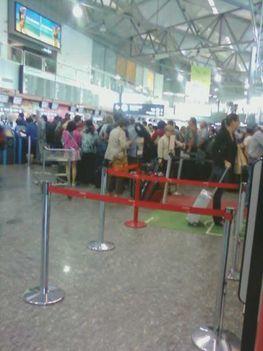 A 2-es A terminál az 1-es bezárását követő napokban 2