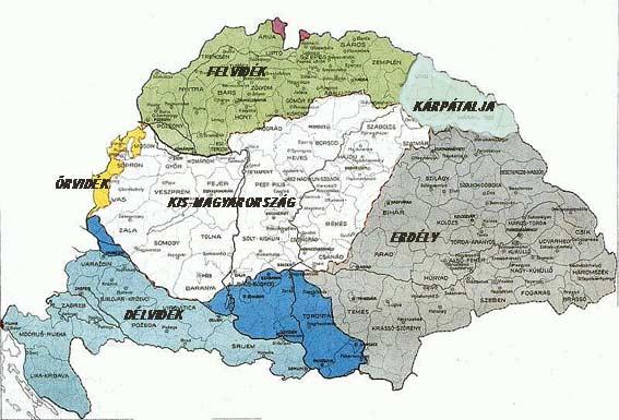 régi magyarország térkép Nagy magyarország: Hazánk térképe (kép) régi magyarország térkép