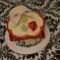 operaház fantomja torta