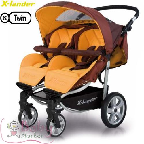 terhess g baby market x lander x twin ikerbabakocsi 10 k p. Black Bedroom Furniture Sets. Home Design Ideas