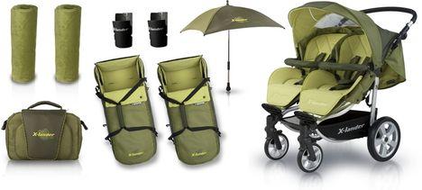 baby market X-Lander X-Twin ikerbabakocsi  1