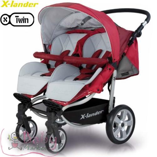 terhess g baby market x lander x twin ikerbabakocsi 2 k p. Black Bedroom Furniture Sets. Home Design Ideas