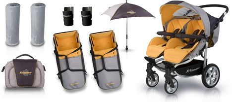 baby market X-Lander X-Twin ikerbabakocsi  4