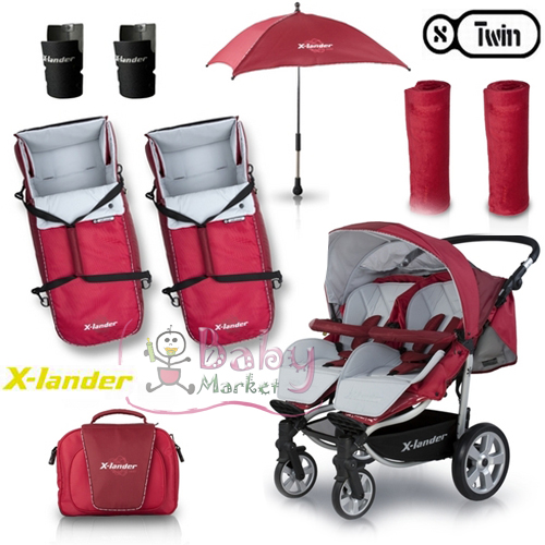terhess g baby market x lander x twin ikerbabakocsi 5 k p. Black Bedroom Furniture Sets. Home Design Ideas