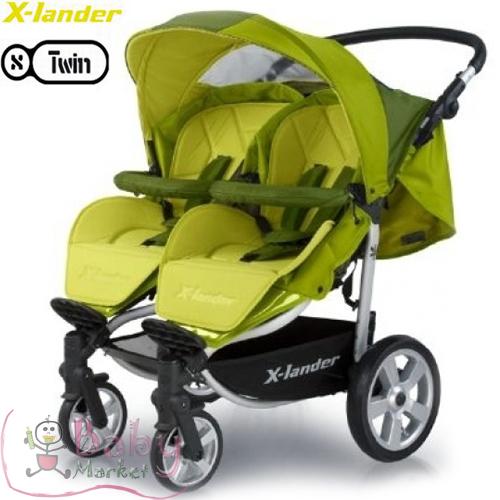 terhess g baby market x lander x twin ikerbabakocsi 6 k p. Black Bedroom Furniture Sets. Home Design Ideas
