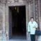 Jáki templom bejárata