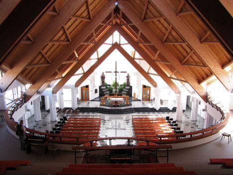 Szent Ágoston templom Csikszereda belül