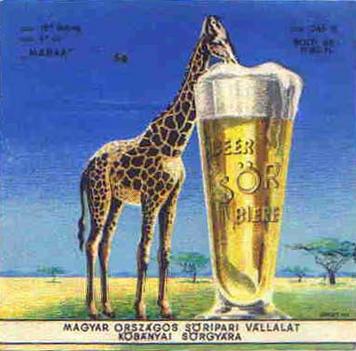 zsiráf söre