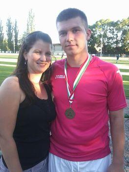 Csonka Bálint bronzérmes