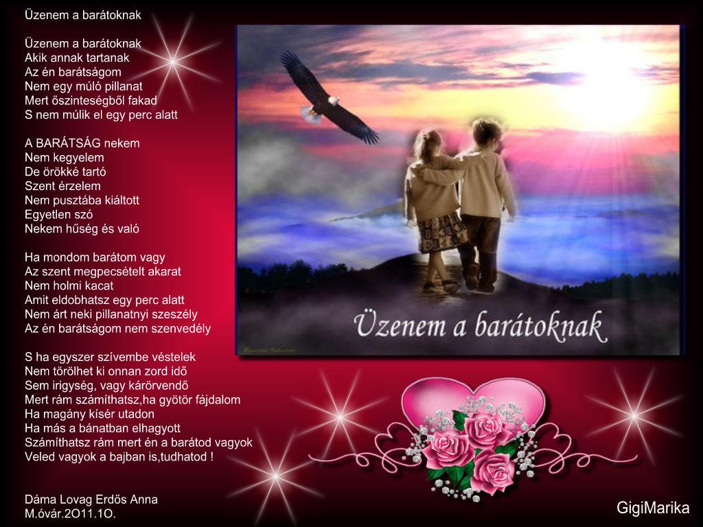 idézetek a barátoknak Kultura: Üzenem a barátoknak (kép)