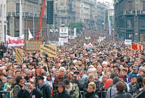 Kollektív állampolgári engedetlenség - Budapest